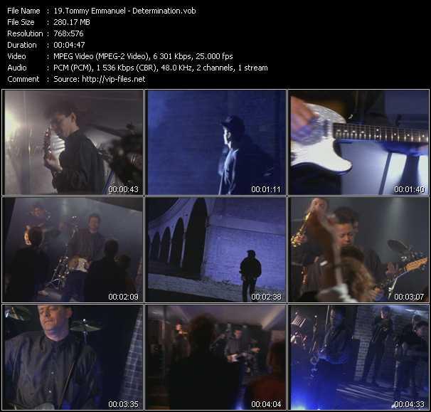Tommy Emmanuel video screenshot