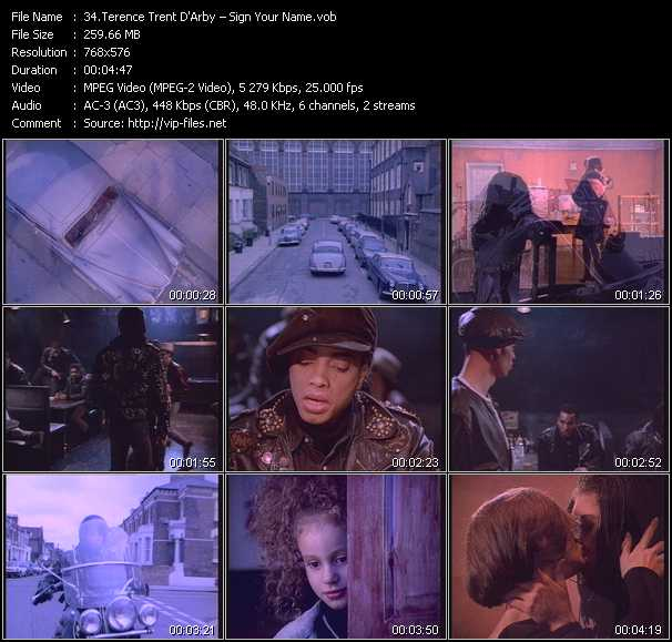 Terence Trent D'Arby video screenshot