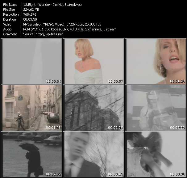 Eighth Wonder video screenshot