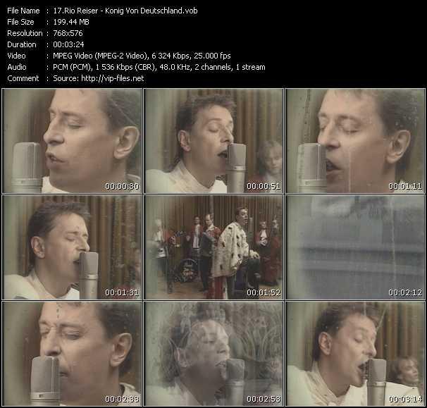 Rio Reiser video screenshot