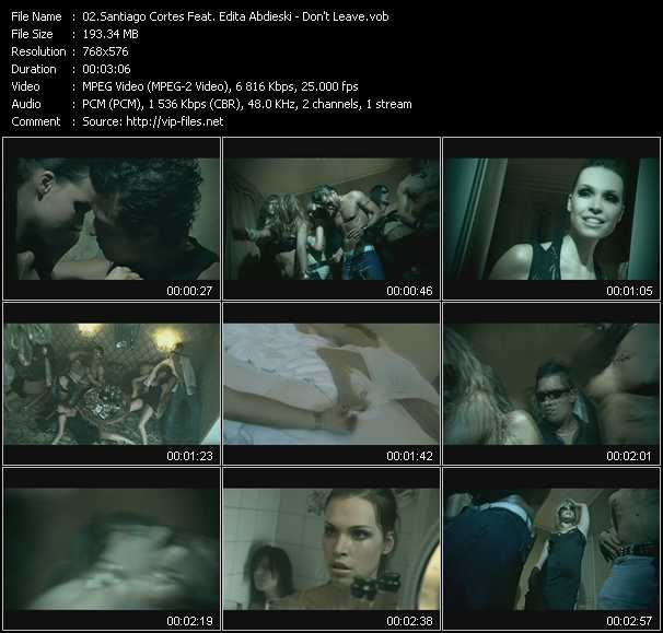 Santiago Cortes Feat. Edita Abdieski video screenshot