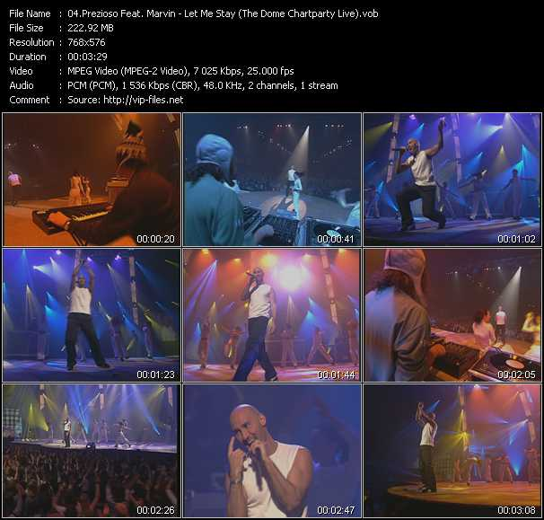 Prezioso And Marvin (Prezioso Feat. Marvin) video screenshot