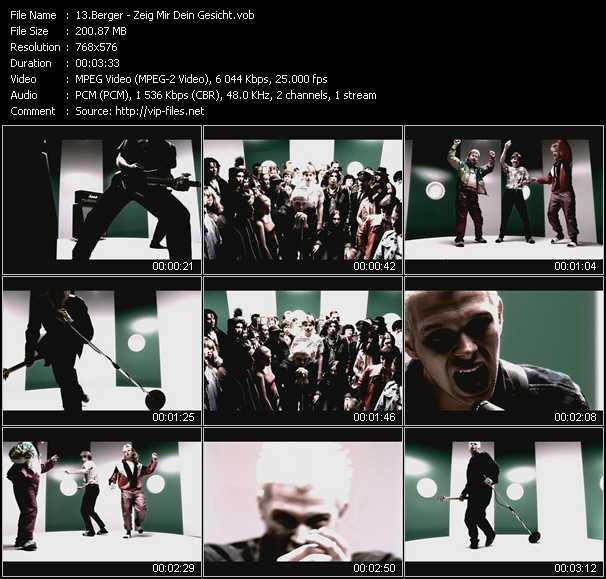 Berger video screenshot