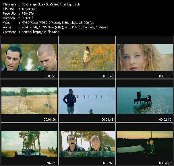 Orange Blue video screenshot