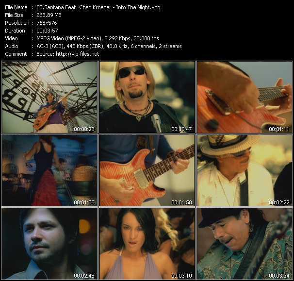 Santana Feat. Chad Kroeger video screenshot