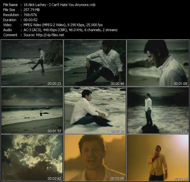 Nick Lachey video screenshot