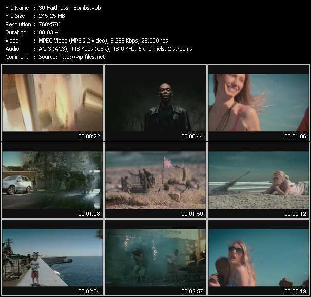 video Bombs screen