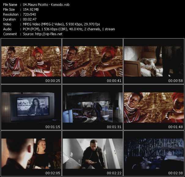 Mauro Picotto video screenshot