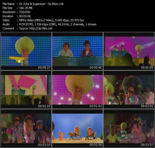 Syke 'N' Sugarstarr video screenshot
