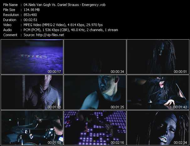 Niels Van Gogh Vs. Daniel Strauss video screenshot