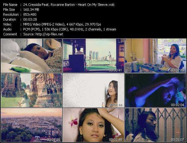 Cressida Feat. Roxanne Barton video screenshot