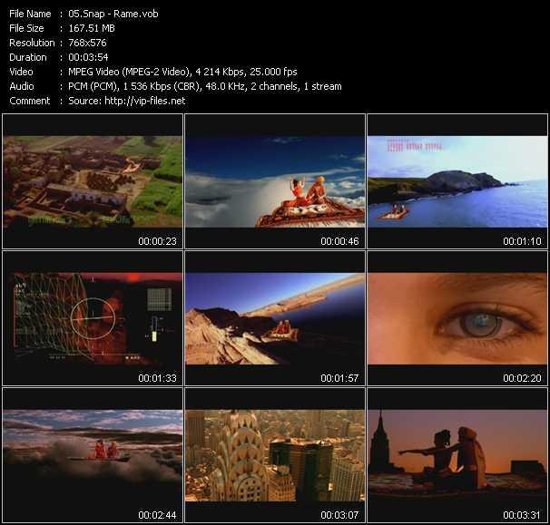 video Rame screen