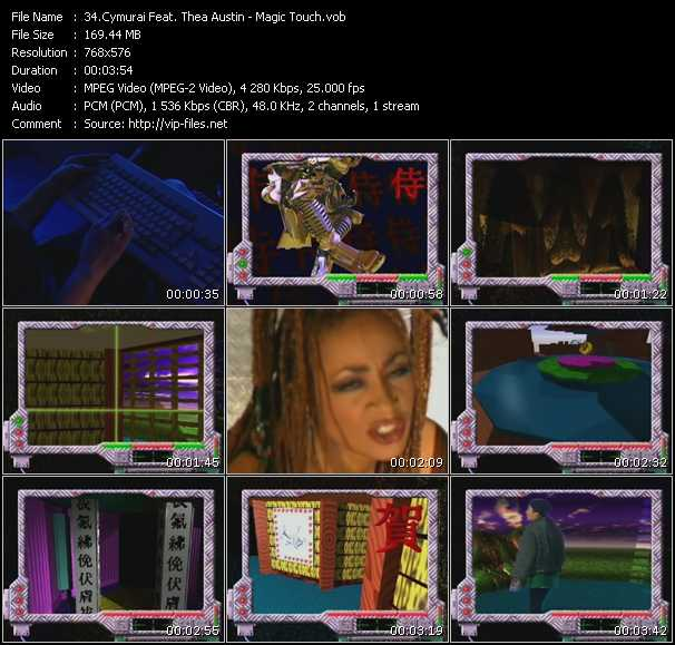 Cymurai Feat. Thea Austin video screenshot
