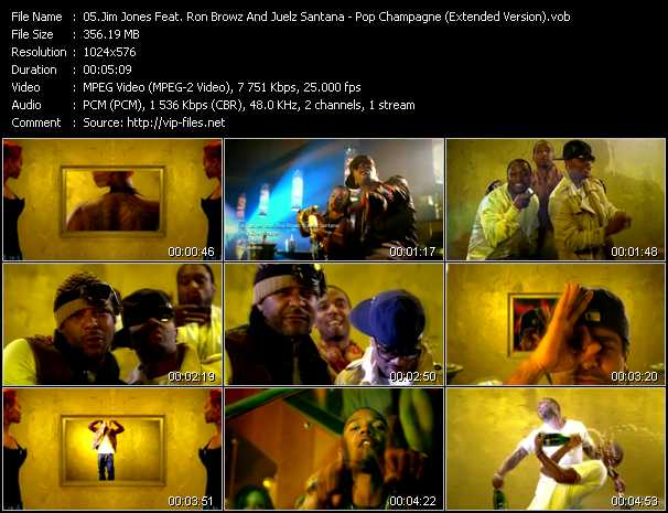 Jim Jones Feat. Ron Browz And Juelz Santana video screenshot