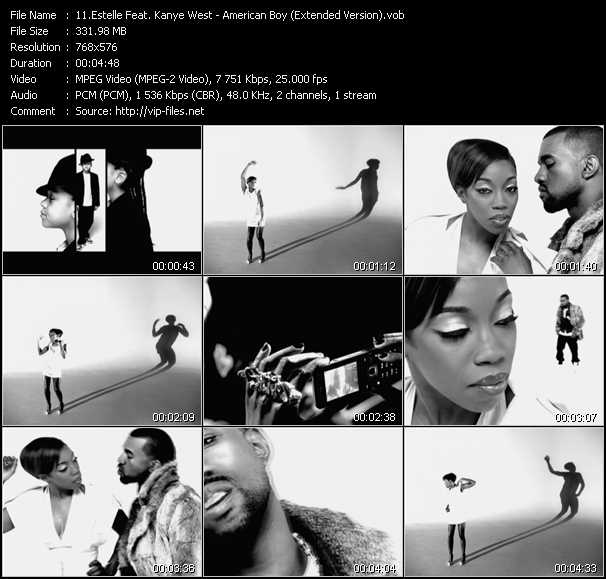 Estelle Feat. Kanye West video screenshot