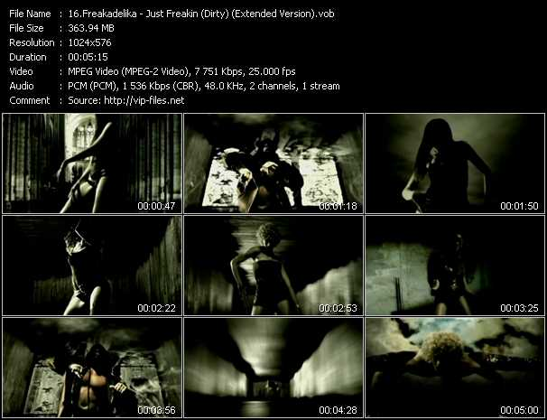 Freakadelika video screenshot