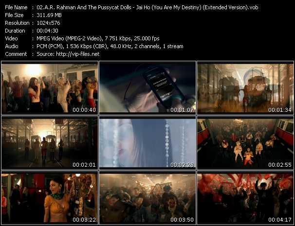 A.R. Rahman And Pussycat Dolls video screenshot