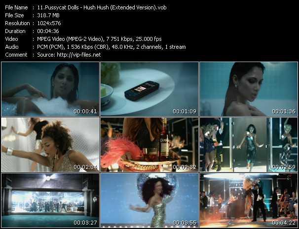 video Hush Hush (Extended Version) screen