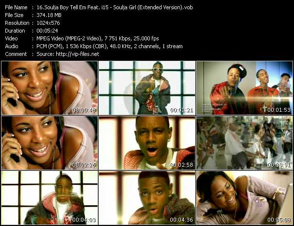 Soulja Boy Tell 'Em Feat. i15 video screenshot