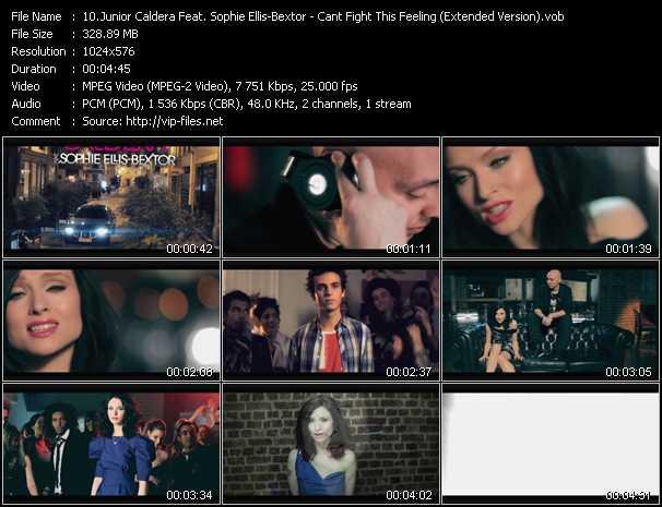 Junior Caldera And Sophie Ellis-Bextor video screenshot