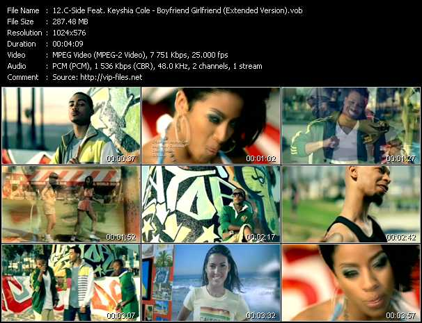 C-Side Feat. Keyshia Cole video screenshot