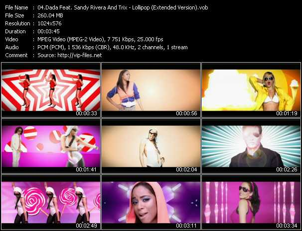 Dada Feat. Sandy Rivera And Trix video screenshot