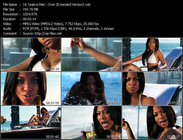 Teairra Mari video screenshot