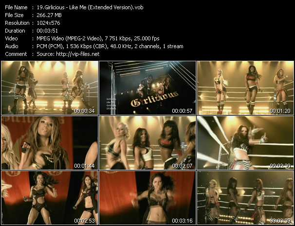 Girlicious video screenshot