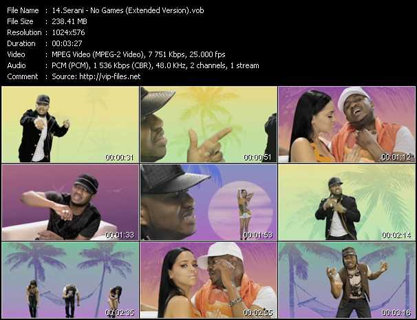 Serani video screenshot
