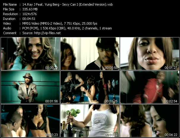 Ray J Feat. Yung Berg video screenshot