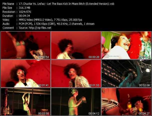 Chuckie Vs. Lmfao video screenshot