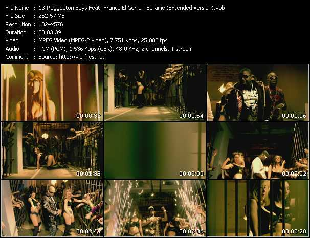 Reggaeton Boys Feat. Franco El Gorila video screenshot