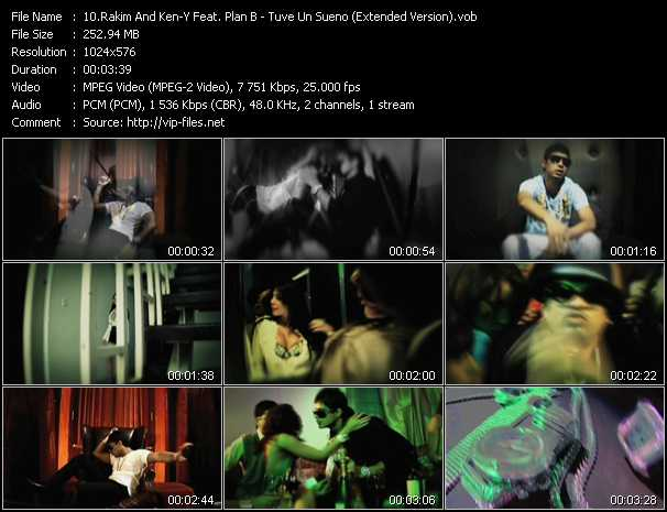 Rakim And Ken-Y Feat. Plan B video screenshot