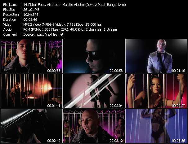 Pitbull Feat. Afrojack video screenshot