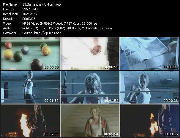 Samantha video screenshot