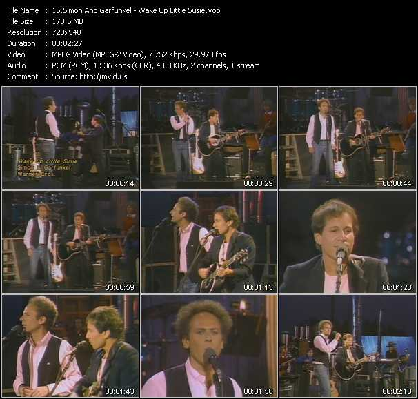 Simon And Garfunkel video screenshot