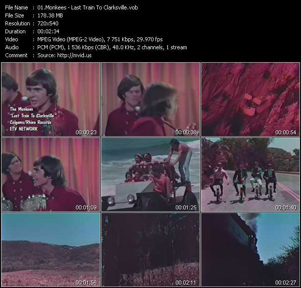 Monkees video screenshot