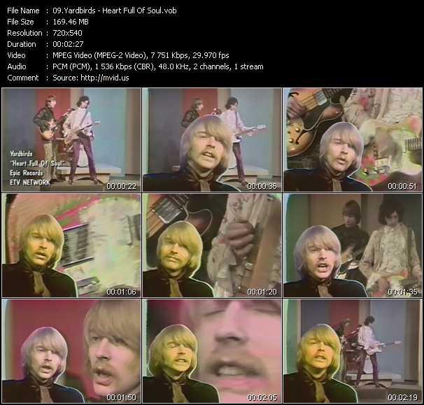 Yardbirds video screenshot