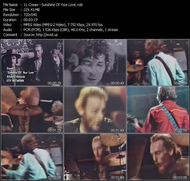 Cream video screenshot