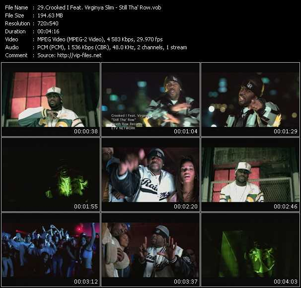 Crooked I Feat. Virginya Slim video screenshot