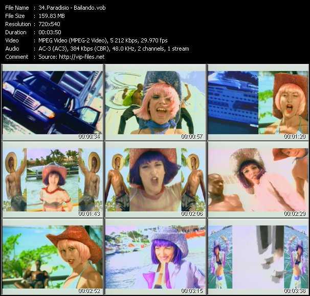 Paradisio video screenshot