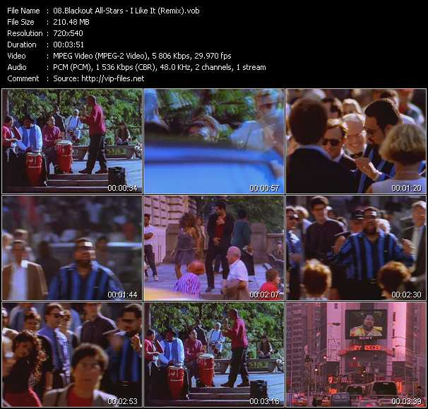 Blackout Allstars video screenshot