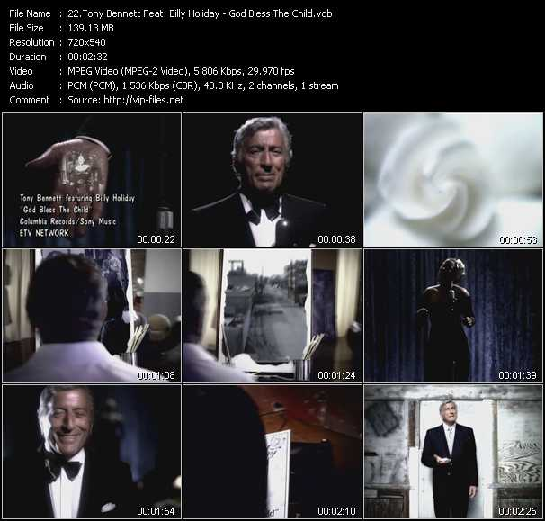 Tony Bennett Feat. Billy Holiday video screenshot