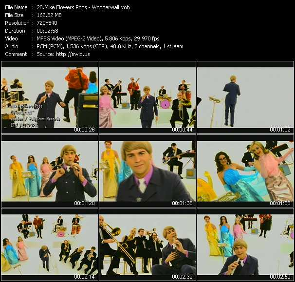 Mike Flowers Pops video screenshot