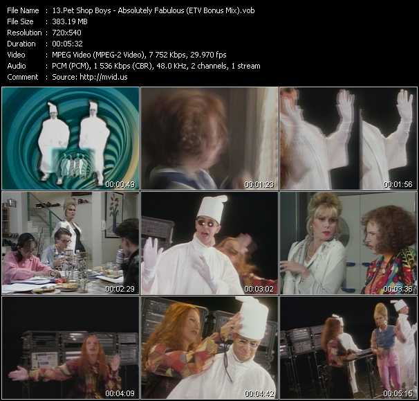 video Absolutely Fabulous (ETV Bonus Mix) screen