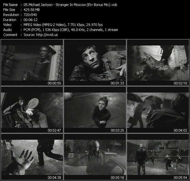 video Stranger In Moscow (ETV Bonus Mix) screen