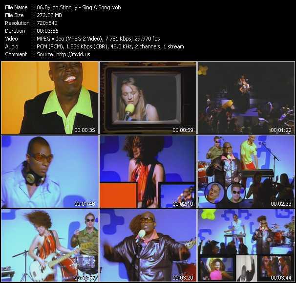 Byron Stingily video screenshot