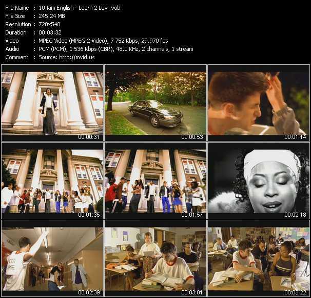 Kim English video screenshot
