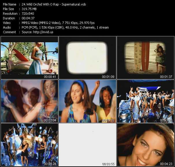 Wild Orchid With O Rap video screenshot