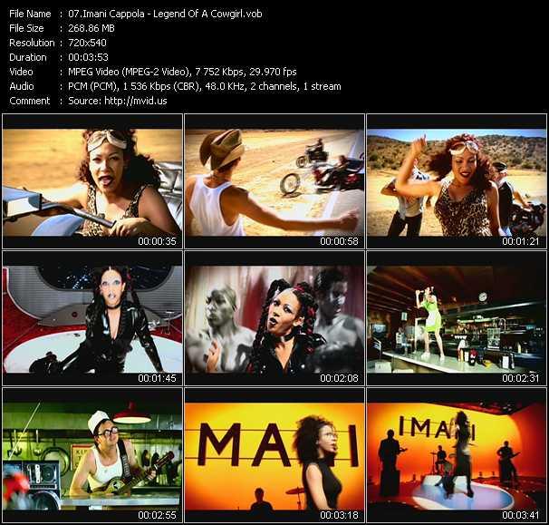 Imani Cappola video screenshot